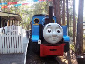 Come along and have unlimited train rides behind Thomas!