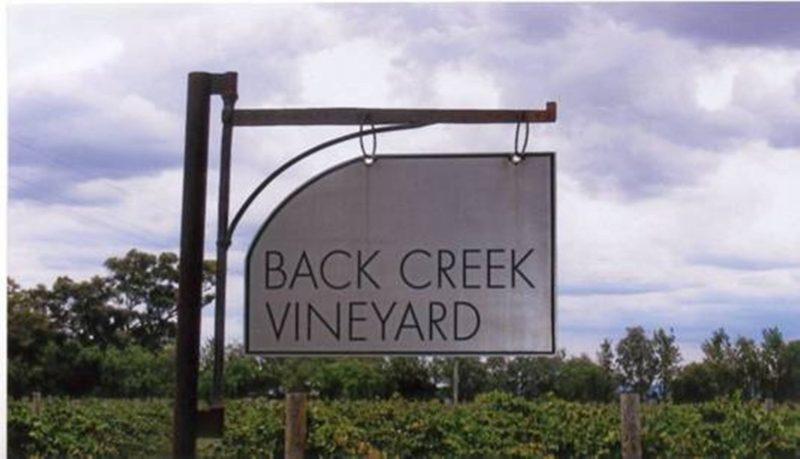 Tinnies at Back Creek Vineyard, Cowra