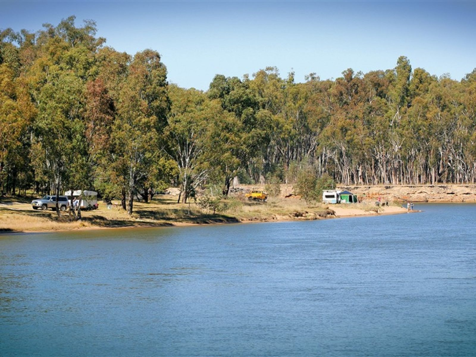 Camping on the Murray