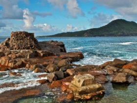 Rocks of Fort Tomaree, Tomaree National Park. Photo: John Spencer