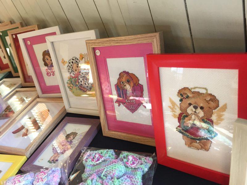 Handmade Cross Stitch Artworks