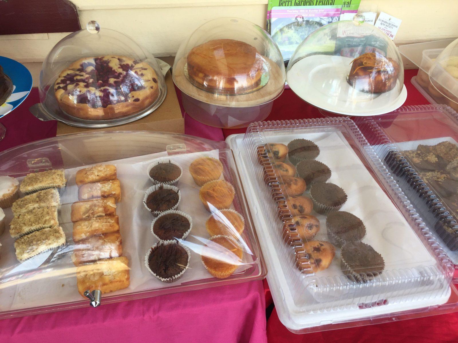 Gluten Free Cakes and Sweet Treats