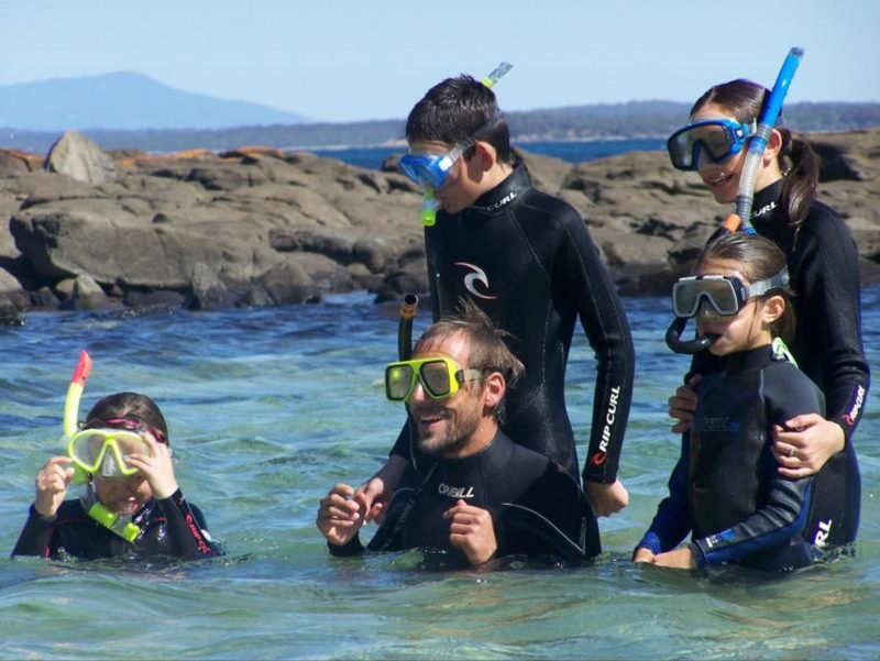 Snorkelling tours for the whole family