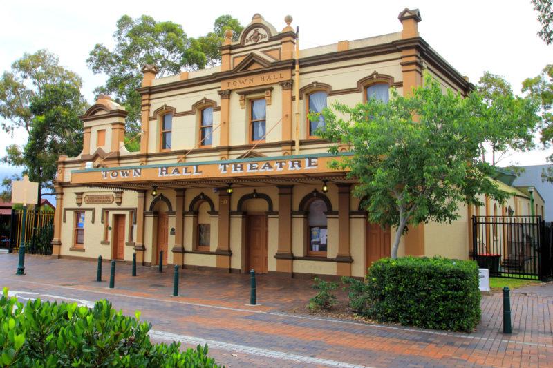Town Hall Theatre external