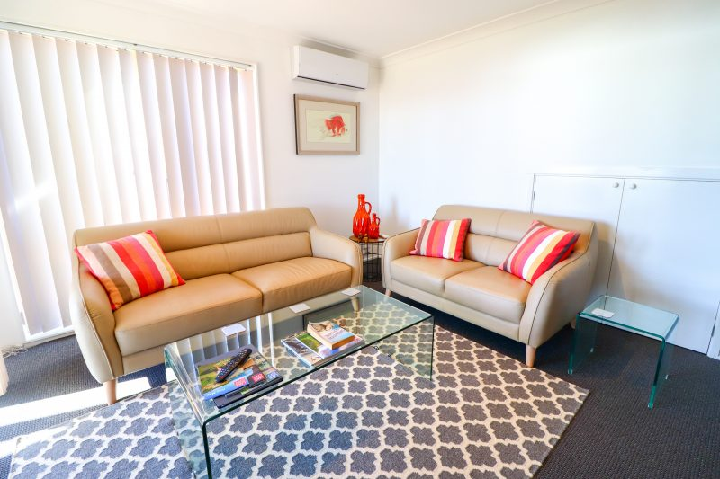 Air conditioned living area