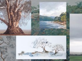 Treestories exhibition at The Corner Store Gallery