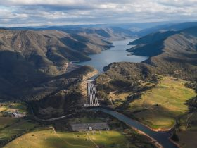 Talbingo Reservoir - Snowy Hydro power station