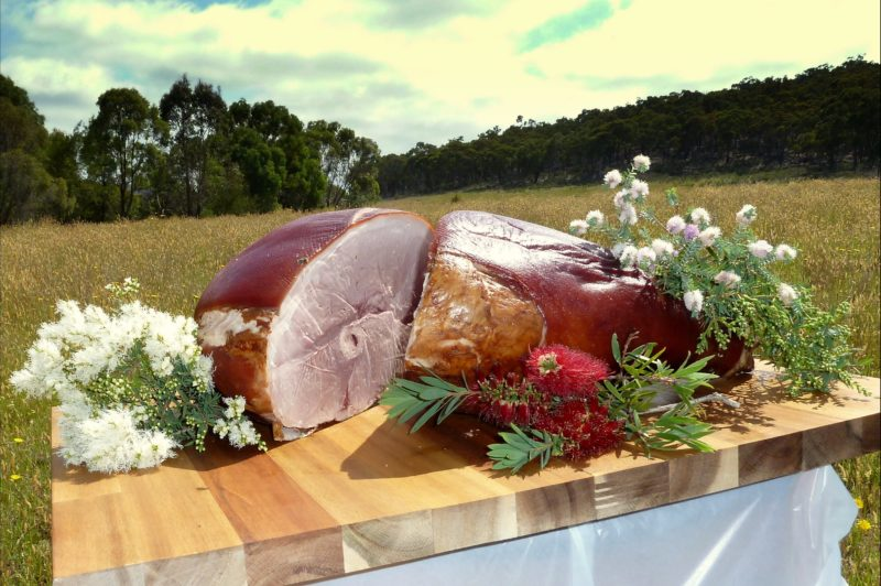Trunkey Christmas Hams