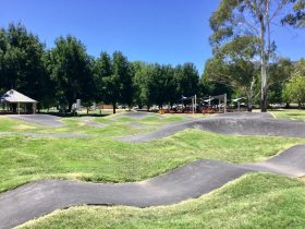 Newly completed Pump Track