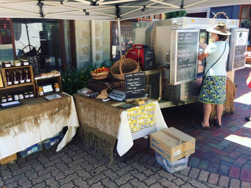 Market Stall at Tumut Farmers Market