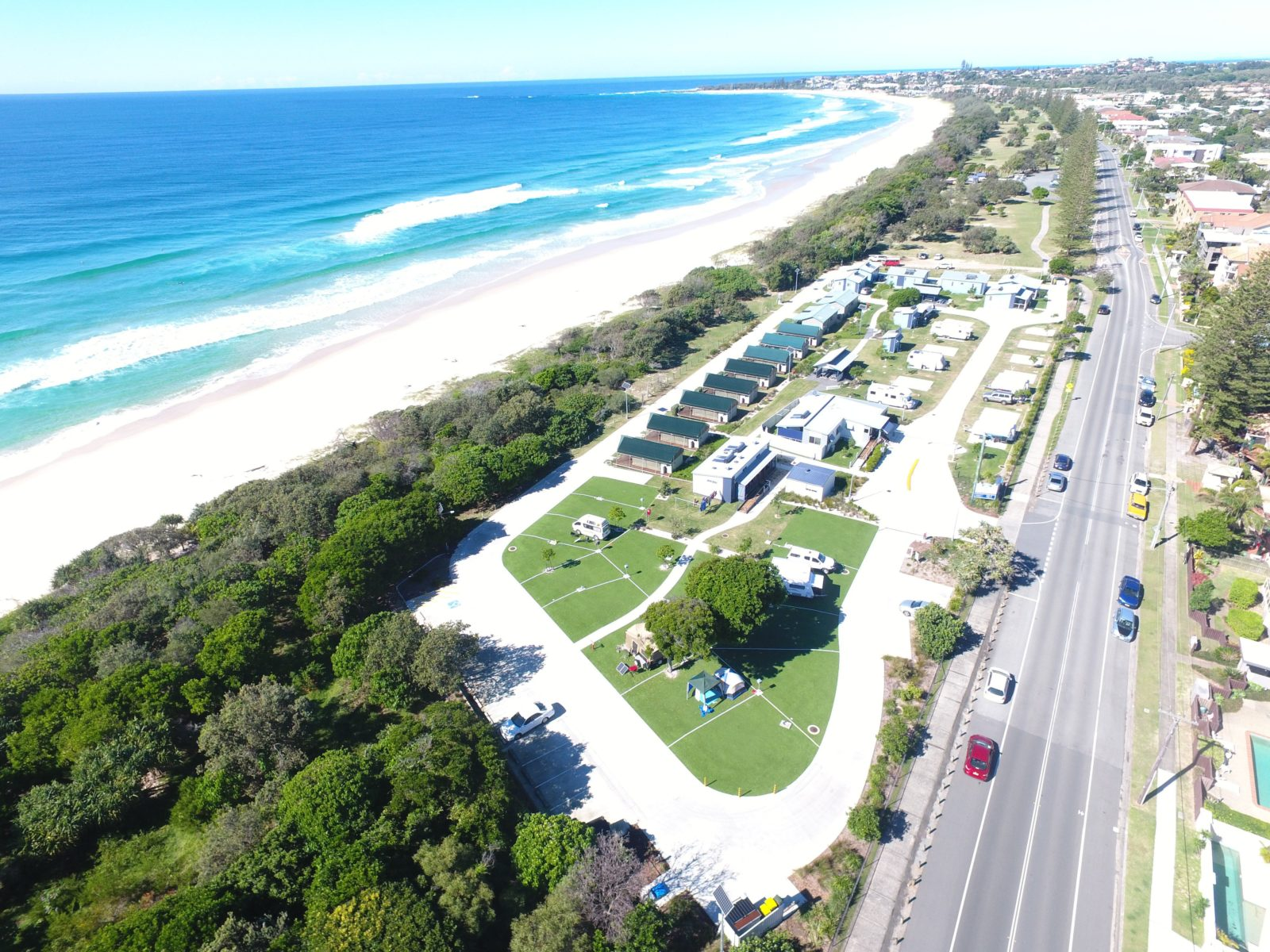 Tweed Coast Holiday Parks Kingscliff North Aerial