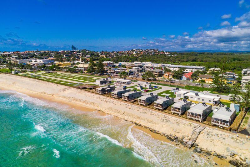 Tweed Coast Holiday Parks Kingscliff Beach Aerial