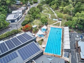 Aerial photo TRAC Murwillumbah