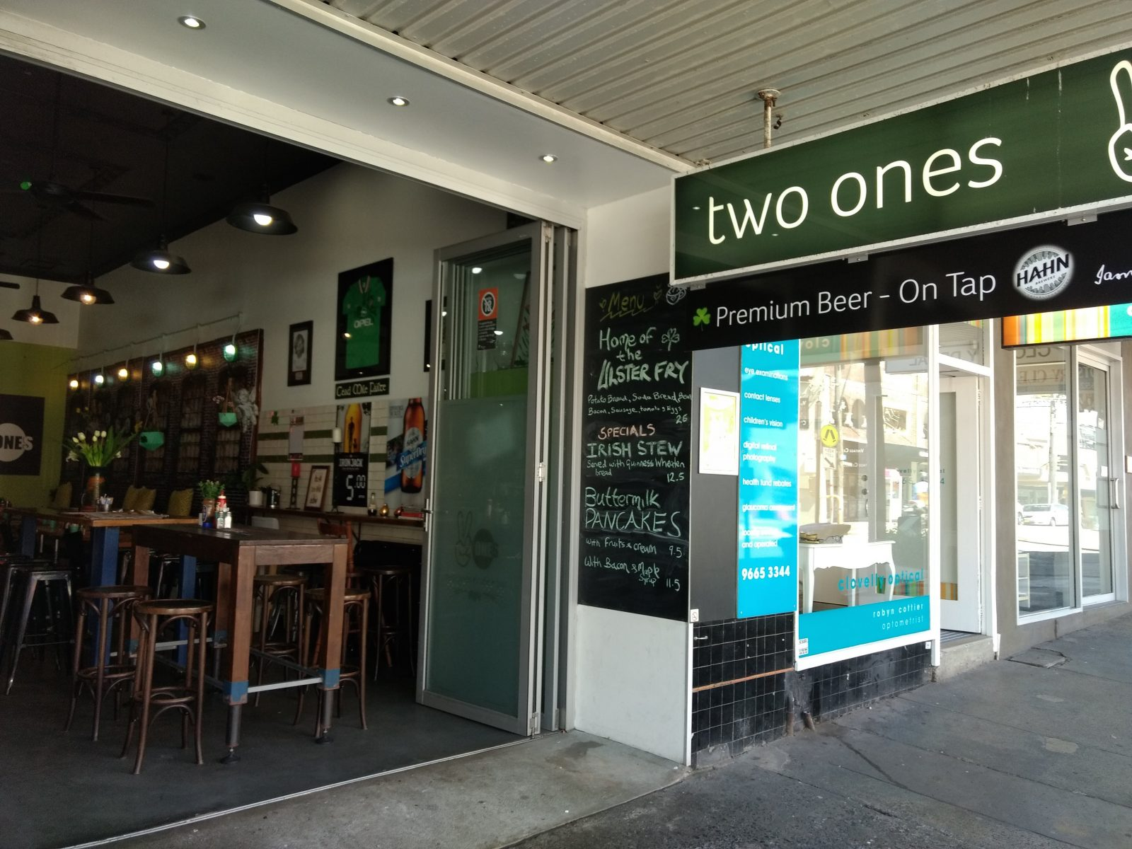 Two Ones Cafe & Bar