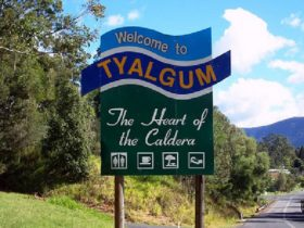 Tyalgum Sign