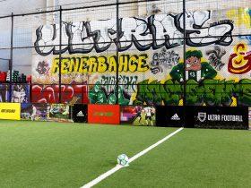 Ultra Football Pitch Graffiti