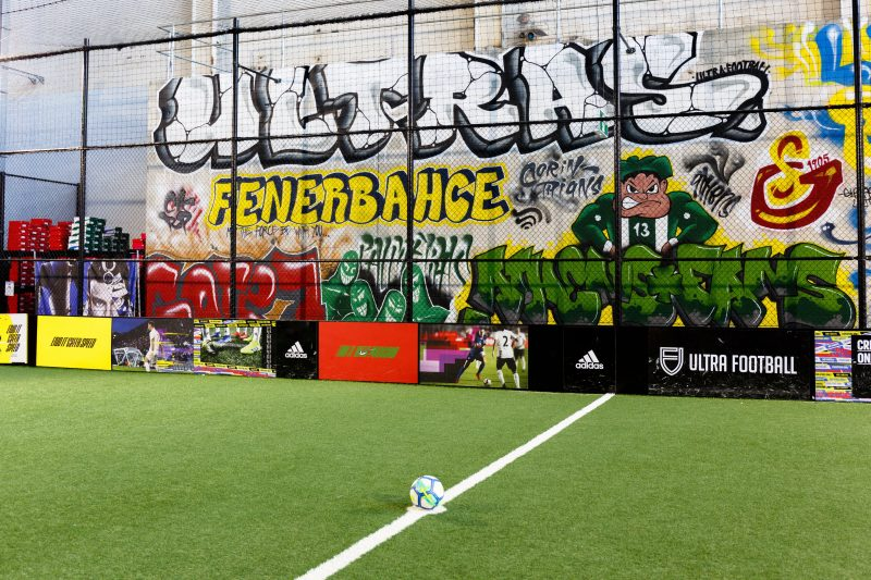 Ultra Football Pitch Graffiti