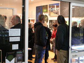 Visitors at Ultragrafik Fine Art