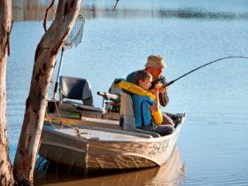 Fish at Lake Urana