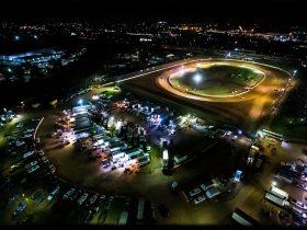 Aerial view of Valvoline Raceway