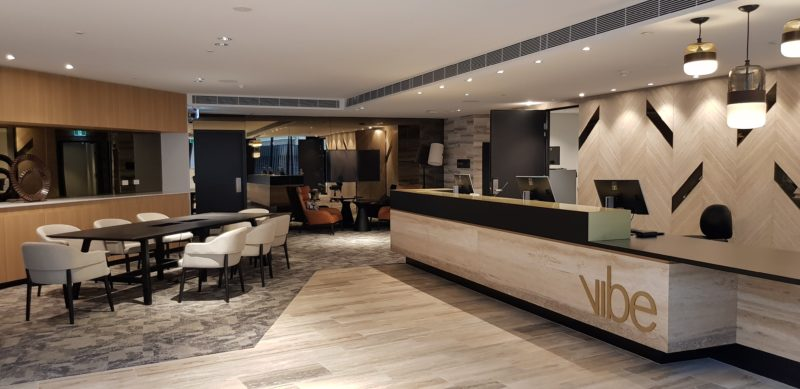 Vibe Hotel North Sydney Lobby
