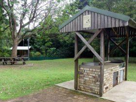 Victoria Park picnic area, Victoria Park Nature Reserve.