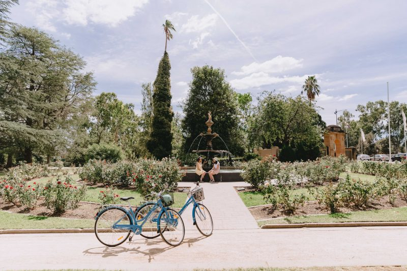 Victory Memorial Gardens in Wagga Wagga