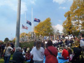 Vietnam Veterans Day 2015 - Flags