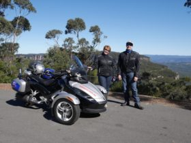 At Narrow Neck Lookout