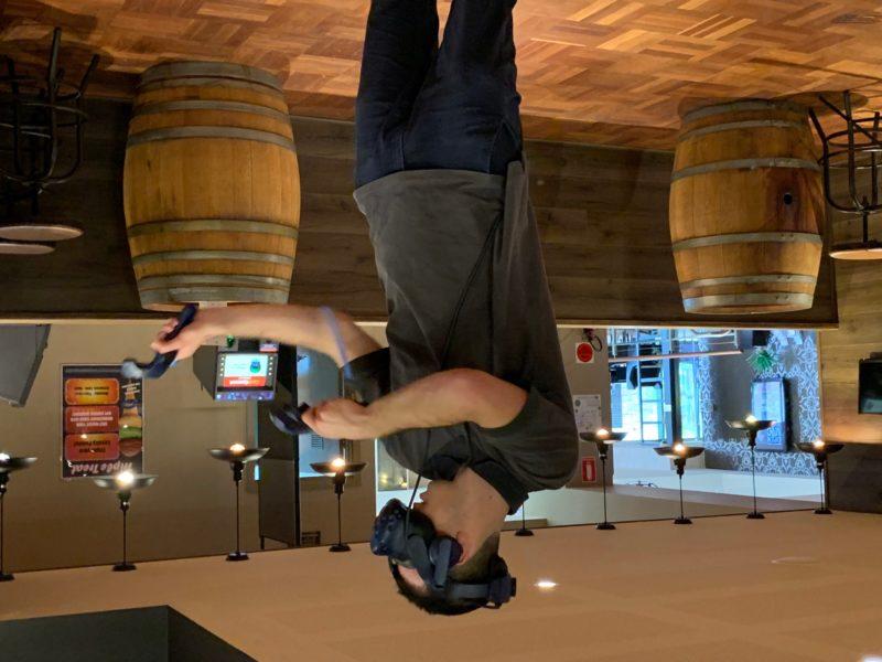 VR Demo at Diggers