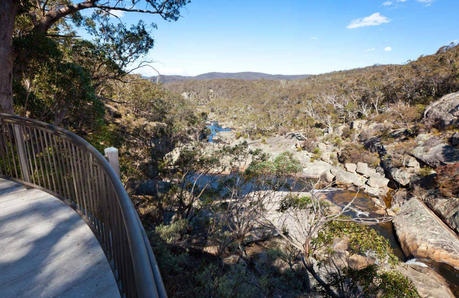 Cascades Viewing Platform, Wadbilliga National Park. Photo: Lucas Boyd Photography/NSW Government