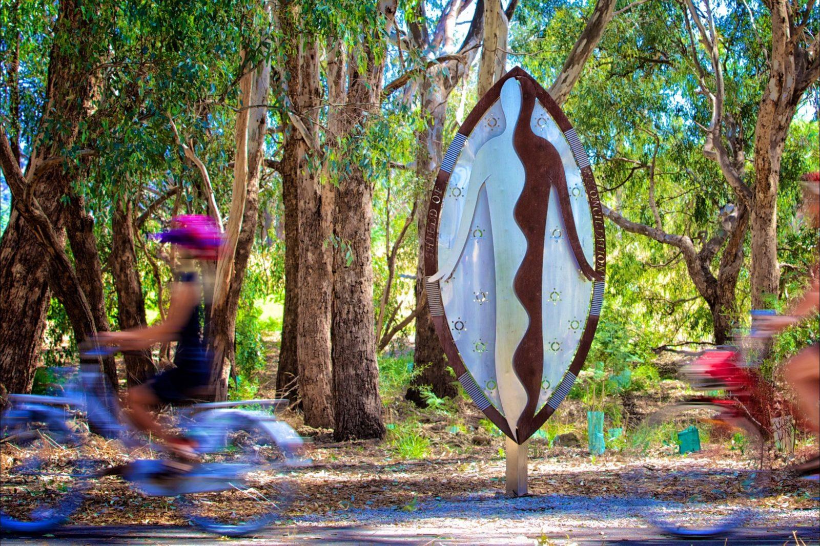 Yindyamarra Sculptural Walk