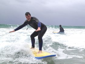 Walking on Water Ulladulla Surf School