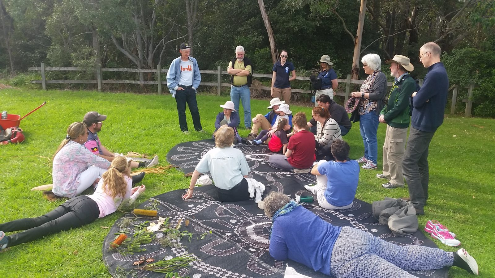 A guided tour along the river which teaches interesting facts about Aboriginal culture