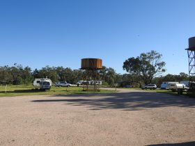 Caravan park Warrawong on the Darling