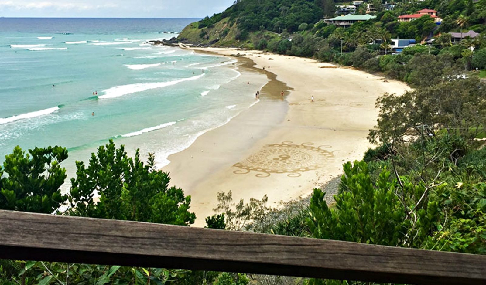 Wategos Beach in Cape Byron State Conservation Area, Byron Bay. Photo: OEH/N.Webb