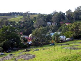 View from Water Tower Lookout Central Tilba
