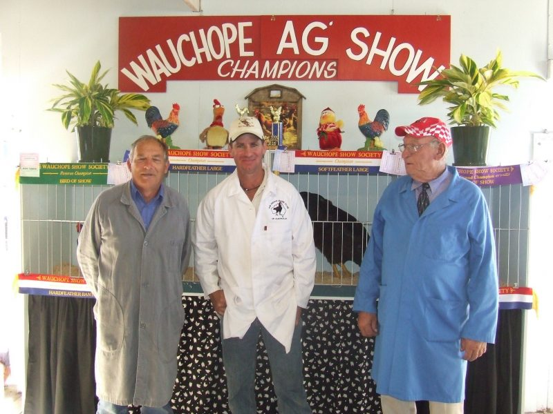 Wauchope Show Poultry Section