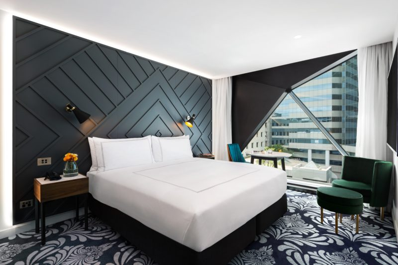Banksia Rooms enjoy city aspect views and have 49-inch HD smart TV, Bluetooth speakers and WiFi.