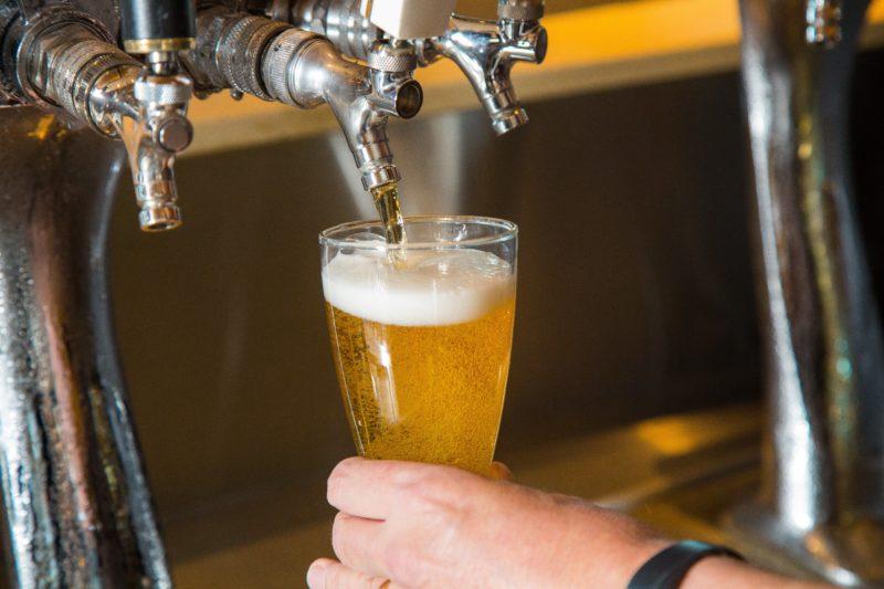 Wests League Club - Beer Pour
