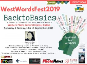 WestWordsFest a niche festival for writers of all ages and stages.