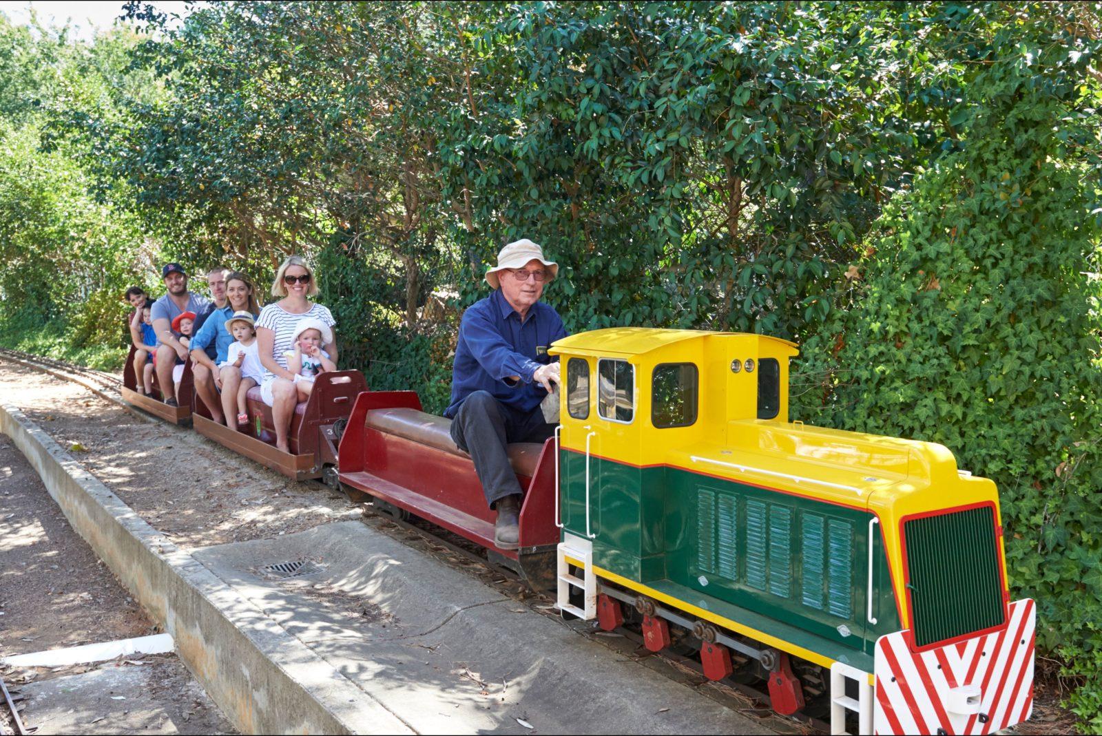Willans Hill Miniature Railway, Wagga Wagga