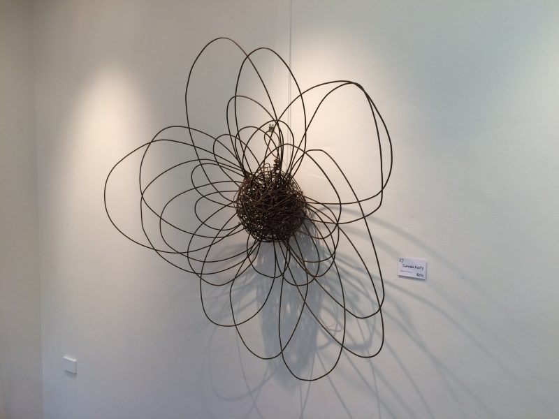 Exquisite wire sculpture by Leanne Kelly