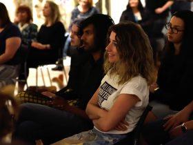 Audience members at Wollongong Writers Festival 2018