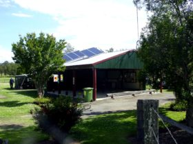 Woodenbong Campground offers sheltered kitchen area