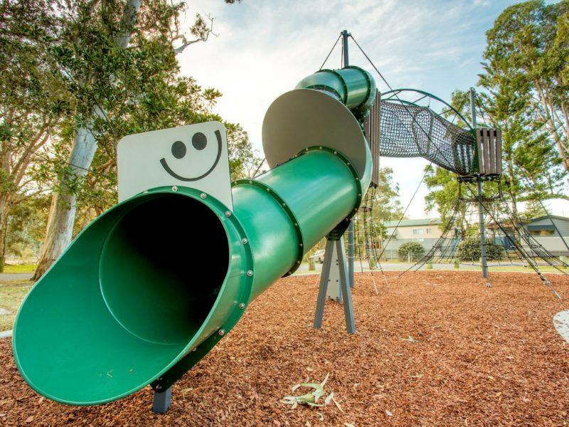 Woolgoolga Lakeside Holiday Park Playground