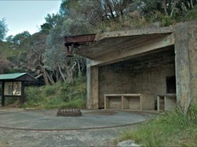 World War II gun emplacements