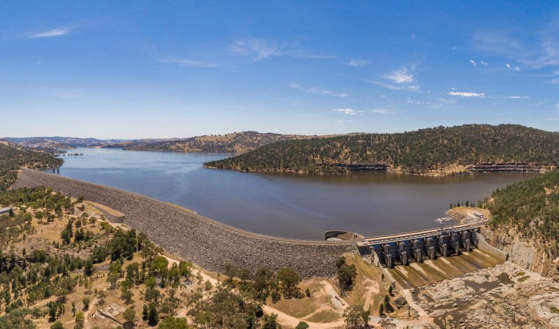 Lake Wyangala & Wyangala Dam