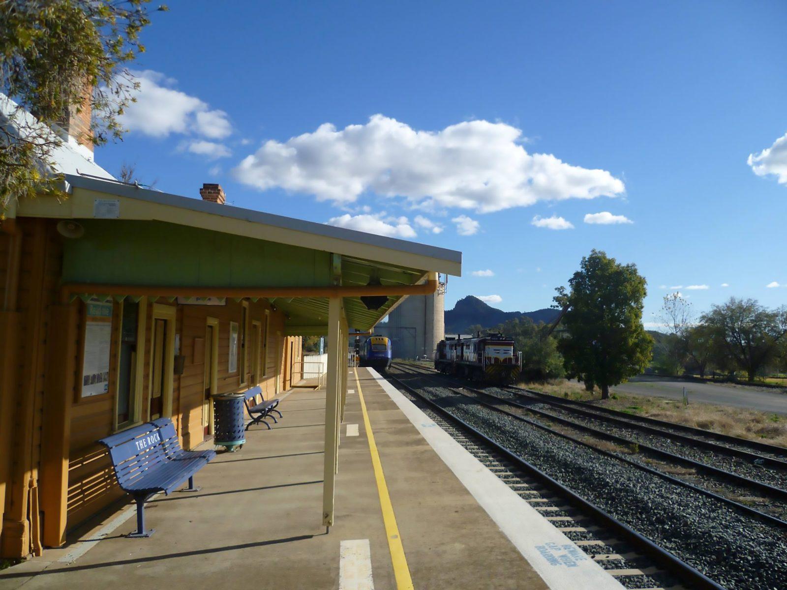 The Rock Railway Station