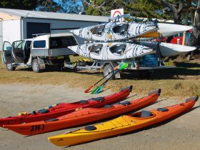 A large range of Sea Kayaks